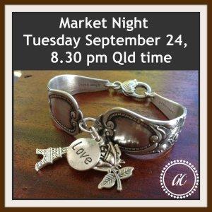 Market Night ad. Tuesday September 24