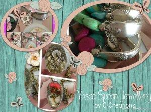 Vosca jewellery collage